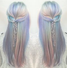The perfect opal mermaid hair @mermicornhair