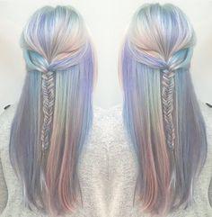 The perfect opal mermaid hair @mermicornhair