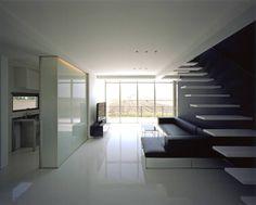株式会社アルフデザイン の モダンな リビングルーム 1階リビング