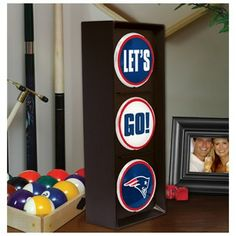Let's Go Patriots Light