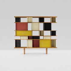 Charlotte Perriand and Jean Prouvé,  room-divider / shelves, 1952