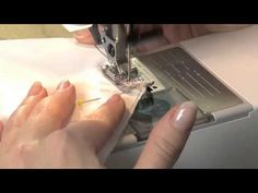 How to sew a little pocket in the side seam