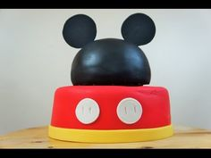 PASTEL DE MICKEY MOUSE - BAKING DAY - YouTube