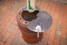 Homemade Heater, Gas Bottle Wood Burner, Waste Oil Burner, Tent Heater, Camping Cooker, Fire Pots, Metal Fire Pit, Antique Stove, Oil Drum