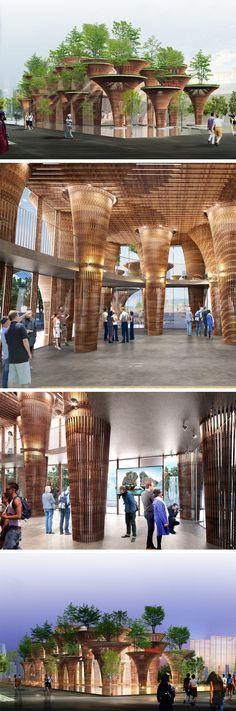 Découvrez le #pavillon du #Vietnam et les autres pays participants à #Expo2015 http://www.novoceram.fr/blog/news/pavillons-expo-2015