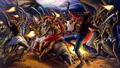 La cérémonie du Bois-Caïman est une réunion d'esclaves marrons la nuit du 14 août 1791, considérée en Haïti comme l'acte fondateur de la révolution et de la guerre d'indépendance. C'est le premier grand soulèvement collectif de Haïti contre l'esclavage.