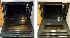 Easy oven cleaning- heat oven to 150 F . When it's hot, place a cup of ammonia in an oven safe dish on the top rack and a pot of boiling water on the bottom rack. Leave overnight and clean out oven in the AM. Deep Cleaning Tips, Oven Cleaning, Toilet Cleaning, House Cleaning Tips, Cleaning Solutions, Spring Cleaning, Cleaning Hacks, Cleaning Products, Diy Hacks