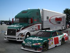 JR Car hauler & car. Love this!!