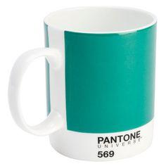 I love mugs...!!! :)   *NEW* PANTONE Universe BONE CHINA MUG - SHRUB GREEN 569