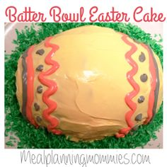 This Pampered Chef batter bowl cake is perfect for Easter time.