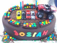 Image detail for -Josiah's Monster Truck Birthday Kake « Happy Tiers