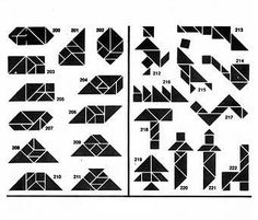 * Soluciones Tangram 7 piezas 6-6