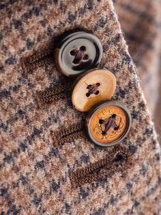 Silk Jacket, Tweed Jacket, Tartan, Tina Goldstein, Brown Aesthetic, Bespoke Tailoring, Harris Tweed, Men Style Tips, Mode Inspiration