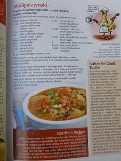 """The LooneySpoons Collection """"Mulligatawnski"""" Mulligatawny - Simple Nourished Living Ww Recipes, Slow Cooker Recipes, Soup Recipes, Cooking Recipes, Healthy Recipes, Healthy Meals, Recipies, Dinner Recipes, Indian Soup"""