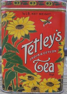 Vintage Food Drink, 89 Indian Tea Cafe Kitchen Old Shop, Small Metal/Tin Sign Vintage Tee, Look Vintage, Vintage Food, Vintage Kitchen, Tetley Tea, Tea Cafe, Tea Tins, Tea Canisters, Tin Containers