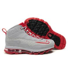 Nike Air Max JR Fall 2011 Ken griffey sneakers in gray and red 332bfa1fde