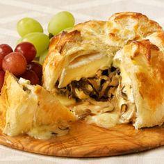 Shiitake-Stuffed Brie in Puff Pastry recipe - Canadian Living Test Kitchen (recipe accompanies video)