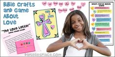 Bible Crafts and Bible Games About Love for Children's Ministry, Children's Church, and Sunday School from www.danielllesplace.com