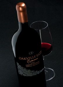 """Oakville East Exposure ... """"Like no other Cab in the world"""" - Wine Spectator. Available from K Sellers Fine Wines"""