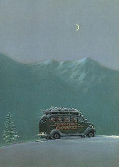 Gerhard Glück Christmas Humor, Winter Christmas, Michael Sowa, Dashing Through The Snow, Really Good Stuff, Funny Art, Painting Inspiration, Wonderful Time, Illustrators