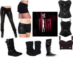 """WWE Ring Attire :)"" by kaelen-evangaline on Polyvore"