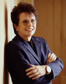Read Billie Jean King's interview about why women need more female role models on Simmons College Leadership Conference blog.