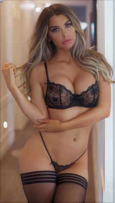 Hot Lingerie Babes NSFW 18 + years only. All images, unless otherwise noted, have been taken from the Internet and are assumed to be in the public domain. Hot Lingerie, Belle Lingerie, Black Lingerie, Lingerie Models, Lingerie Outfits, Corpo Sexy, Emily Sears, Mädchen In Bikinis, Sexy Women