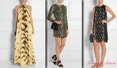 Outfits for Flamboyant Natural (Kibbe) - animal prints. Typ urody Flamboyant Natural – supermodelka