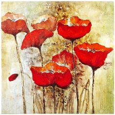 Dreamy Poppies Art