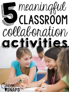 Collaboration Ideas for the Classroom
