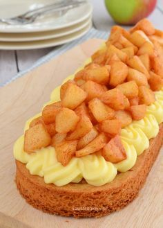 Apple cinnamon tart - Appel-kaneel slof - Laura's Bakery