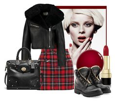 """""""Untitled #2737"""" by julinka111 ❤ liked on Polyvore featuring Dolce&Gabbana, Filles à papa, NARS Cosmetics, Balmain, Acne Studios and Coach"""
