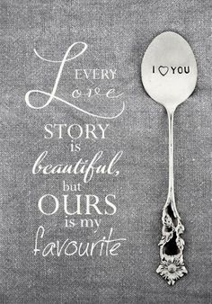 Love is in the air..  Sweet valentines ! #beloved.fi #bybrunou #craft #finland #spoons  photo: http://hellerannassa.blogspot.fi