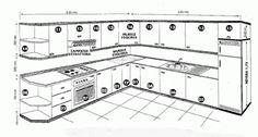 Medidas arquitectónicas y de Arquitectura: MEDIDAS DE UN MUEBLE DE ...