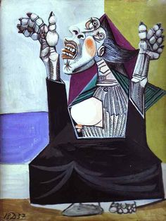 Pablo Picasso - La Suppliante (1937)