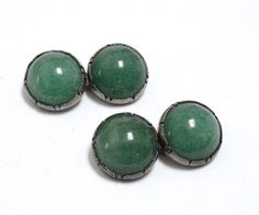 Art Deco Chinese Export Silver & Jade by RubyInTheDustVintage #rubyinthedust #rubyinthedustvintage #vintagejewelry #artdeco #bridaljewelry #artnouveau #vintagecufflinks #mensjewelry #edwardian #cufflinks #chineseexport #jade #sterling #groom #vintage #antique