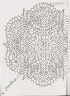 free crochet doily patterns charts – Knitting Tips Free Crochet Doily Patterns, Crochet Doily Diagram, Crochet Motifs, Freeform Crochet, Thread Crochet, Filet Crochet, Crochet Dollies, Crochet Stars, Crochet Circles