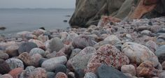 <3 Beach stones in Hanko. Hanko is most southern place in Finland. There is very windy all the time.