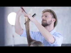 L'Oréal Professionnel Beach Waves & Cut by FRED - Tutorial Salone - YouTube