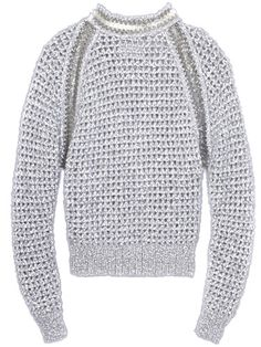 Paco Rabanne Metallic Sweater	  		  		  		Fall Clothes and Accessories 2012 - New Fall Looks 2012  		  		 - Marie Claire