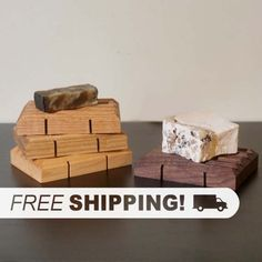 Walnut Soap Dish  wooden soap dish wood soap by MadeByMillerCom