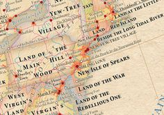 Atlas of True Names, Maps That Replace Location Names With Their Original Meanings