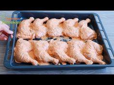MİSAFİR SOFRAMIN VAZGEÇİLMEZİ TARİFİNİ SORAN SORANA ✅ÖZEL SOSUYLA FIRINDA NAR GİBİ KIZARAN TAVUK 💯 - YouTube Meat Recipes, Dinner Recipes, Cooking Recipes, Tandoori Masala, Turkish Kitchen, Sauce For Chicken, Arabic Food, Iftar, Food And Drink