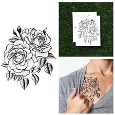 Tattify Traditional Flower Temporary Tattoo - Twin Rose (Set of 2), http://www.amazon.com/dp/B00FN4R0D8/ref=cm_sw_r_pi_awdm_Upbvwb1TZFH4F