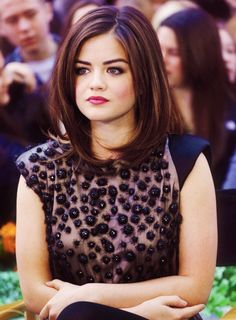 Lucy Hale - inspiration for my new do after Sam's wedding.