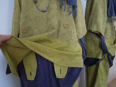 12-16 UK,100% LINEN Tunic by BOHEME NORWAY, Pistachio,Lagenlook Arty BoHo Quirky   eBay