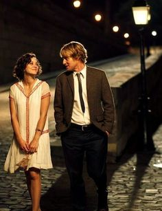Midnight in Paris - I love her dress, it's amazing.