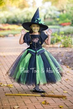 Items similar to Wicked Witch Tutu dress- Wicked witch tutu dress-Wicked Witch dress- witch costume-Wicked witch-wizard of oz costume on Etsy