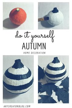 Do It Yourself Deko diy autumn deko part i diy and crafts deko and fall