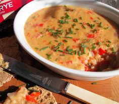 5:2 Diet - A Fabulous Vegetarian Red Pepper, Lentil and Cheese Pâté (Spread) Recipe